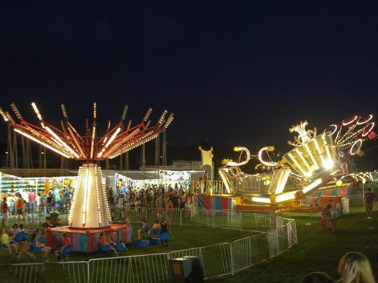 Johnson City Field Days will end Monday with fireworks.