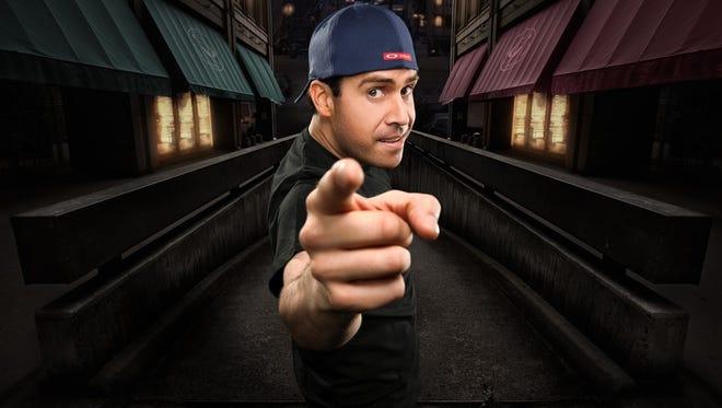 Comic Pablo Francisco is set to headline at the El Paso Comic Strip Comedy Club.