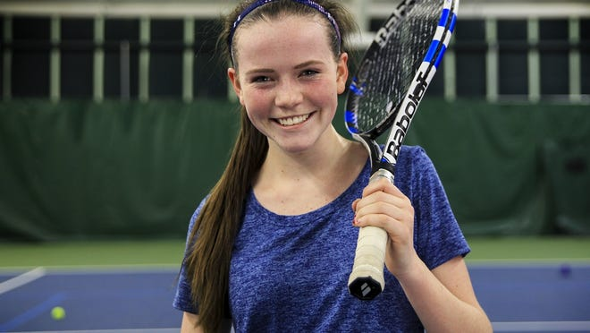 Lexi Dewire lost just one match in her two seasons of action with the HHS girls tennis team.
