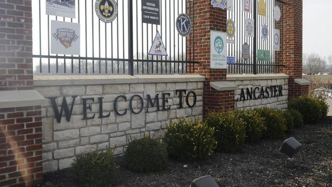 lancaster city sign