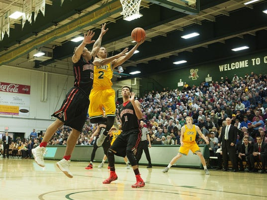 Northeastern vs. Vermont Men's Basketball 12/10/16