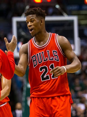 Jimmy Butler and the Bulls will face LeBron James and the Cavaliers in the second round.