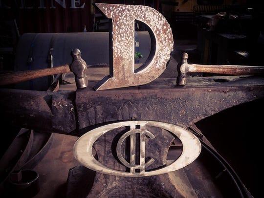 Iron D trophy