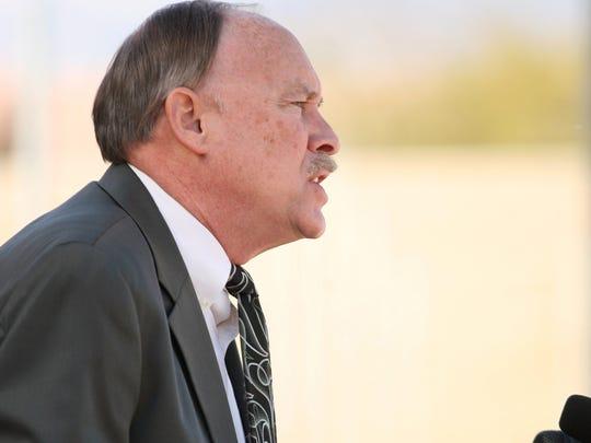 Riverside County District Attorney Paul Zellerbach