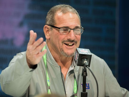 NY Giants general manager Dave Gettleman