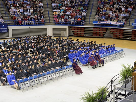 Winter Quarter Commencement at Louisiana Tech