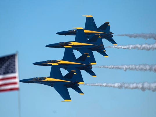 2017 Blue Angels Homecoming-Friday