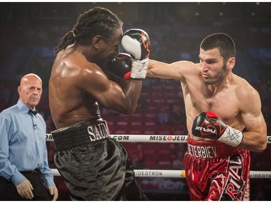 Artur Beterbiev, right, has won all 11 professional fights by knockout.