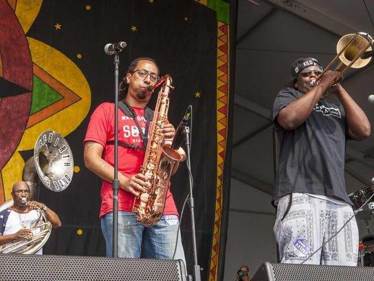 Rebirth Brass Band AP art