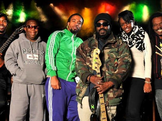Reggae legends the Wailers
