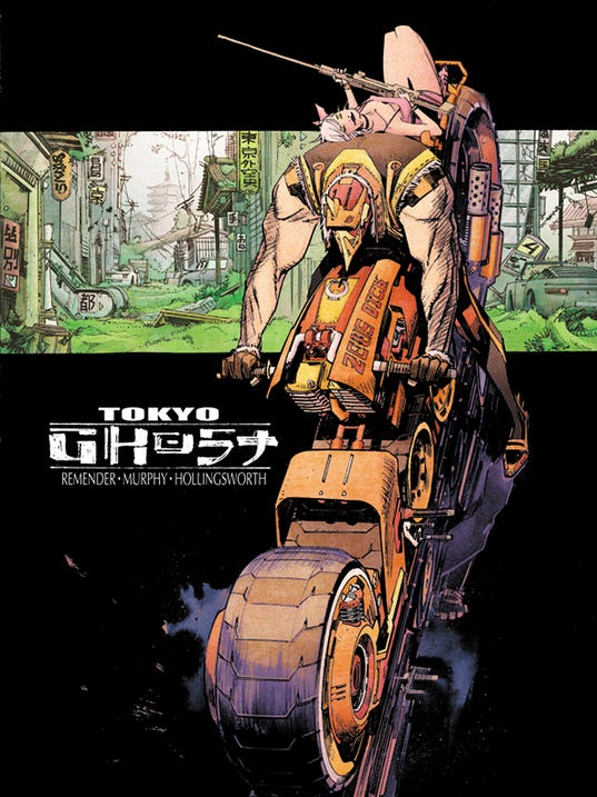 Tokyo Ghost cover