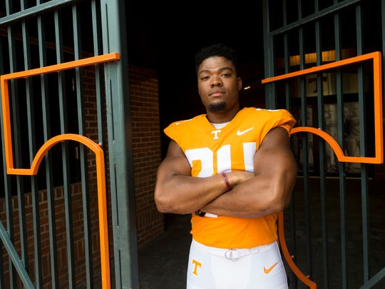 Tennessee defensive back Todd Kelly Jr. (24).