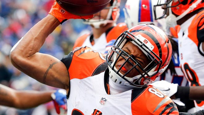 Marvin Jones has 134 career catches on 215 targets. He has 1,729 career receiving yards and 15 touchdowns.