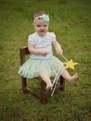 Alexa Winnell Meikenhous, June 11 - Daughter of Ryan and Kendall Meikenhous.