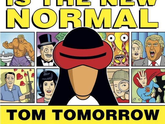 """The cover of Dan Perkin's book """"Crazy is the New Normal,"""""""