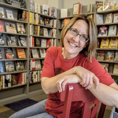 Plot Twist Bookstore, owned by Mary Rork-Watson of Altoona, is open for business in Ankeny.