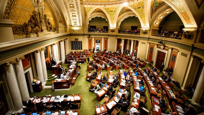 Minnesota House of Representatives.