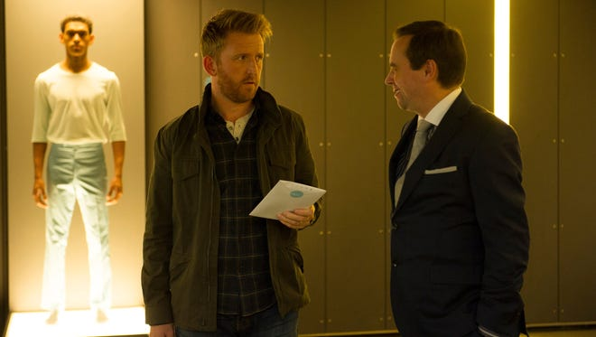 Tom Goodman Hill and Dan Tetsell in 'Humans.'