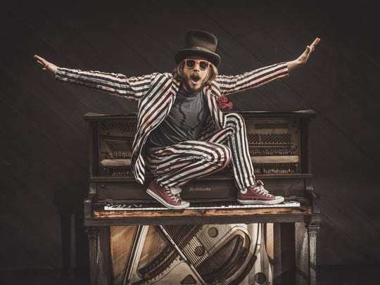 Marco Benevento will perform Wednesday at the temporarily