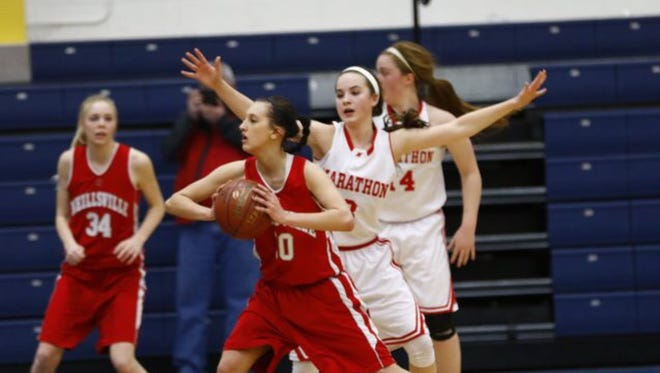 Kayla Lis and the Neillsville girls basketball team are ranked No. 6 in Division 4 in this week's Associated Press state poll.