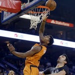 Suns' Marquese Chriss gets kudos, kick out of Draymond Green