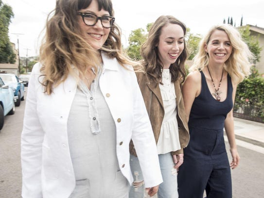 I'm With Her — from left, Sara Watkins, Sarah Jarosz