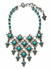 A necklace by precious metals artist Gregory P. Segura