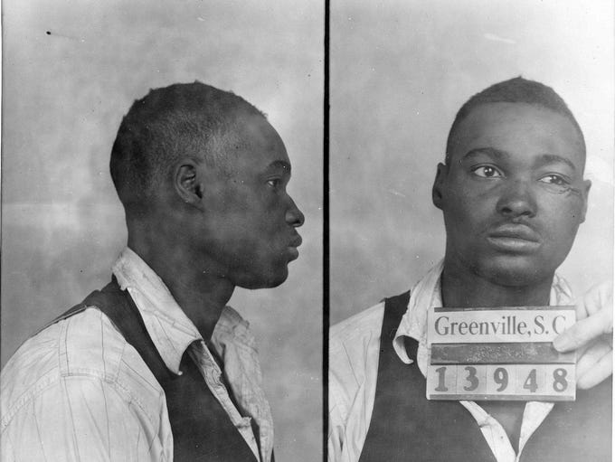 Greenville Police Dept. Willie Earle is shown in a