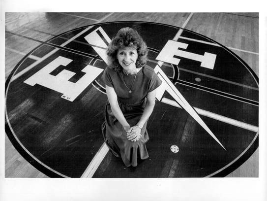 Former Edison athletic director Judi Knight remains