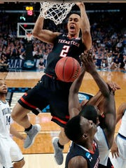 Zhaire Smith in action for Texas Tech.