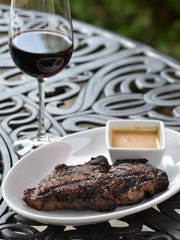 The 15 oz. Delmonico steak from Cover Crop Ranch is served at Big Rock Chophouse in Birmingham for $60.