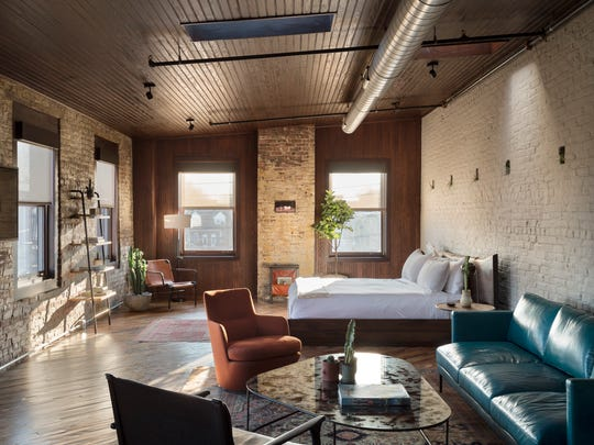 WHERE TO STAY Wm. Mulherin's Sons, a former 19th century whiskey blending and bottling factory turned hotel, featuring Sferra lines, rainfalls showers and a curated coffee collection by La Colombe.