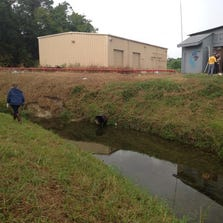 Volunteers searching bayous and abandoned buildings near Bush airport for the woman missing since last Thursday