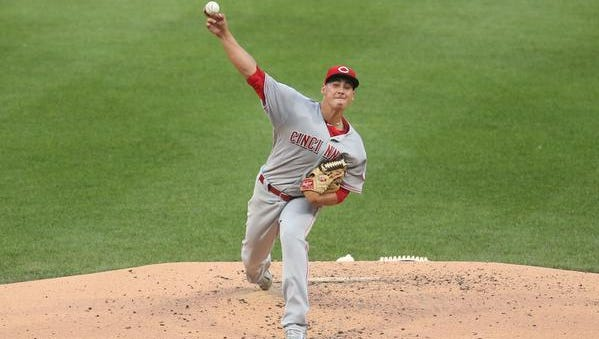 Cincinnati Reds tarting pitcher Robert Stephenson (55) pitches against the Pittsburgh Pirates during the third inning at PNC Park.