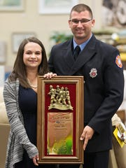 Deena Gant and her husband Cape Coral fire fighter