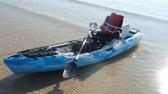There are several variables to consider when choosing a kayak for fishing.