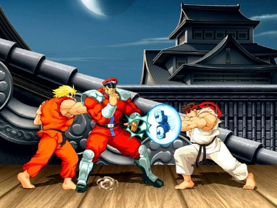 Ultra Street Fighter 2: The Final Challengers.