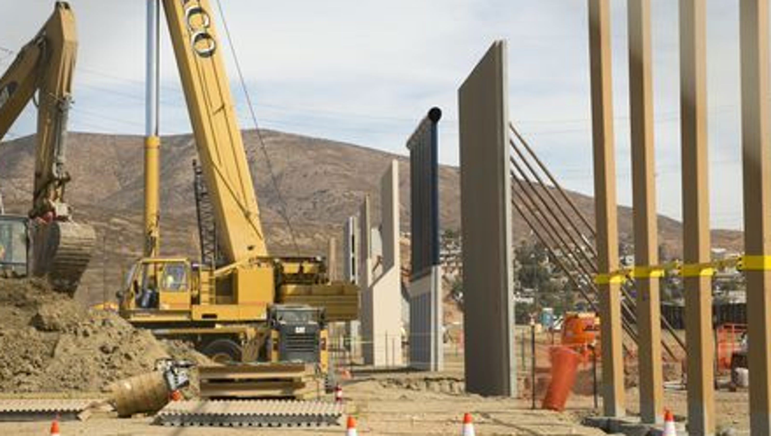 Trump S Border Wall Will Be More Like A Fence Flake Says