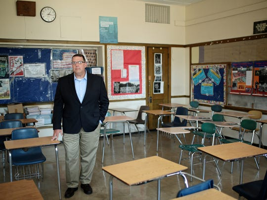 Ryan McLeod, Superintendent of East Detroit High School.