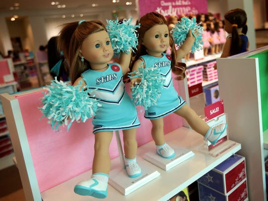 The soft opening of American Girl store at Twelve Oaks