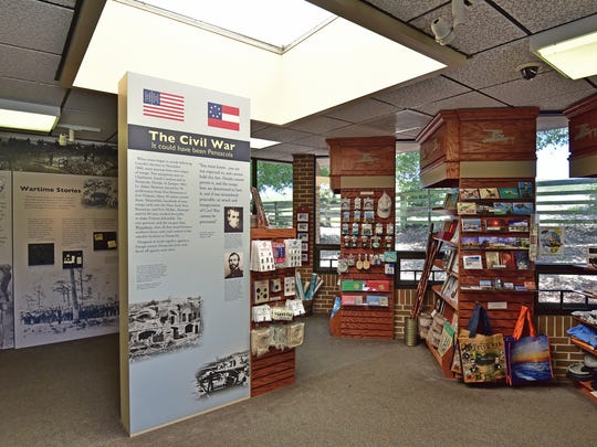 The Fort Barrancas Visitors Center is a wealth of information.