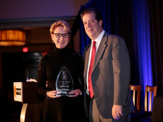 Quicken Loans wins 5th place in the large company category the 2016 Detroit Free Press Top Workplaces awards on Tuesday, Nov. 15, 2016, at the Detroit Marriott in Troy.