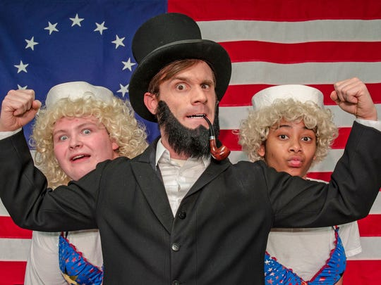 """The Complete History of America (Abridged)"" concludes the Detroit Mercy Theatre Company's 47th season."