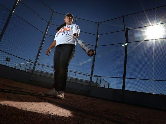 Eastlake High School graduate Kasey Flores led her