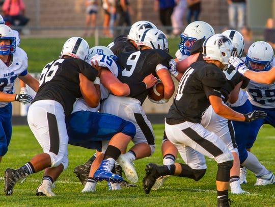 High school football: Beaver at Canyon View, Friday,