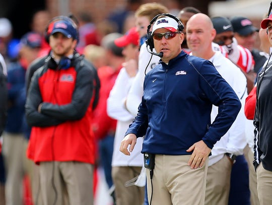 Mississippi's Hugh Freeze says the SEC football coaches'