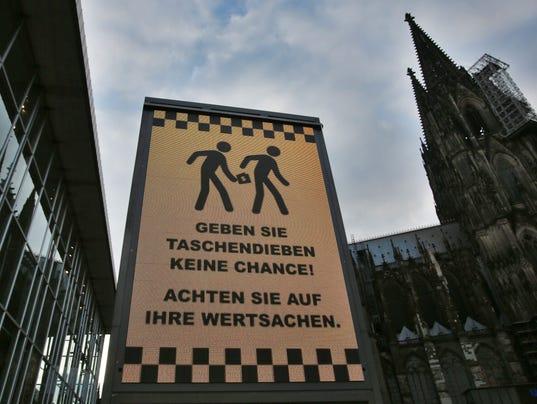 EPA GERMANY COLOGNE SEX ATTACKS CLJ CRIME DEU
