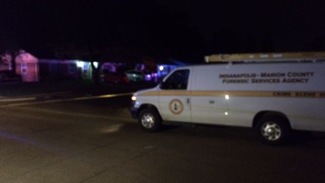 Indianapolis Metropolitan Police investigators were called to the intersection of Tiffany Drive and East Penway Street after a reported shooting.