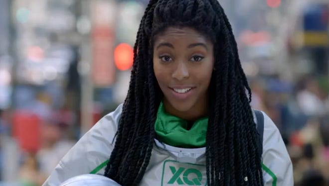 Comedian Jessica Williams appears in a video spot for The XQ Project, a new effort to reinvent USA public high schools.