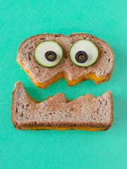 Cut your grilled cheese into different shapes to have some extra fun on national grilled cheese day.